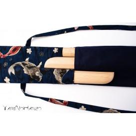 Bolsa para Aikido KOI Azul| Buki Bukuro KOI