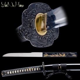 Kurushima Katana Afilada | Espada Japonesa | Artesanal