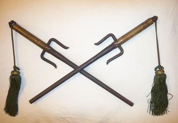 Las armas del ninja. Parte 3