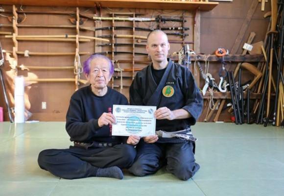 Quién es Hatsumi Masaaki, el gran maestro del ninjutsu moderno