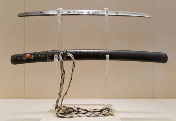Las espadas japonesas históricas