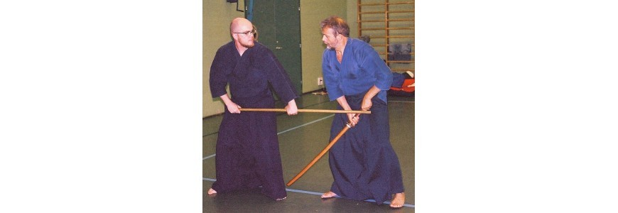 Tipos de armas samurái de madera