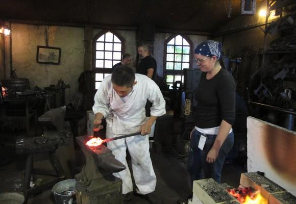 Técnicas de forjado de katanas: el método tradicional
